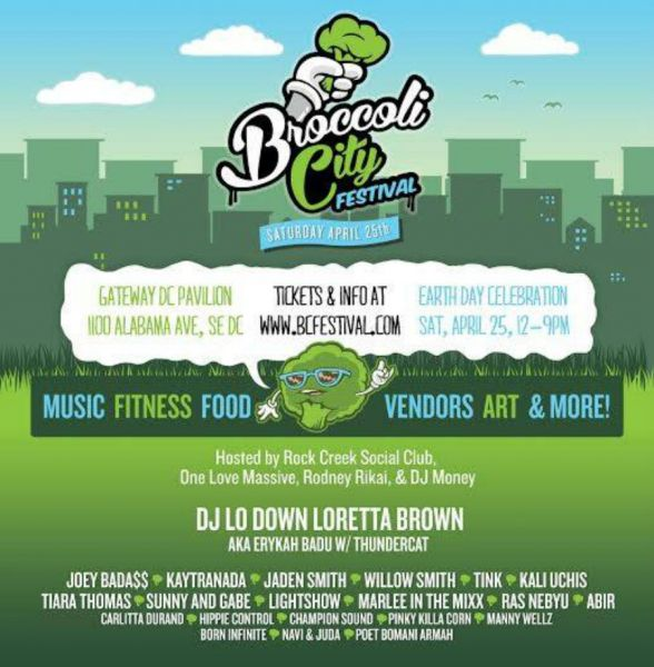 3 things to experience at the 2015 Broccoli City Festival!
