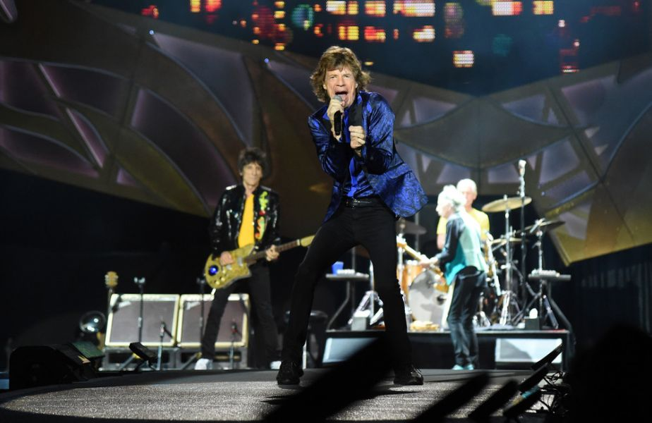 The Rolling Stones perform at Heinz Field on June 20, 2015 in Pittsburgh, Pennsylvania.