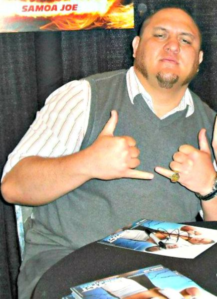 Samoa Joe, a longtime fixture in Total Nonstop Action, will be among the WWE NXT superstars wrestling Sept. 19 at the Aztec Theatre.