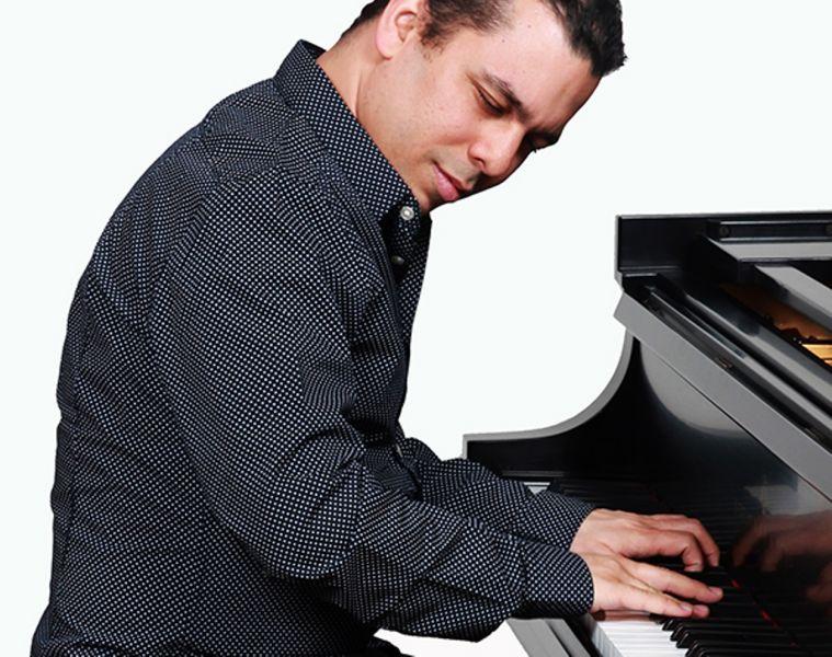 Pianist/bandleader Cesar Orozco