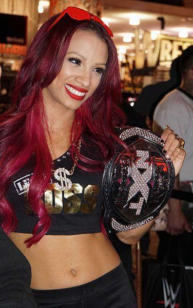 Sasha Banks is the current NXT women's champ