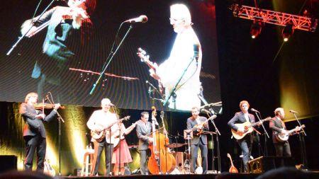 Steve Martin accepts Bluegrass award in Raleigh