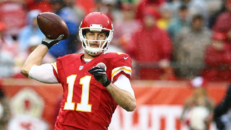 Alex Smith and the Chiefs are in great shape for a wild card berth