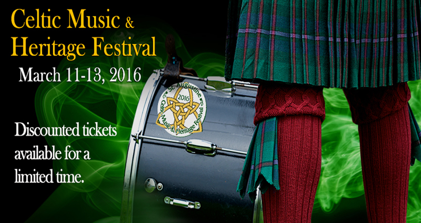 Dublin's City Ramblers coming to St Augustine for the Celtic Festival