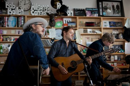 Watch: Wilco performs on NPR's 'Tiny Desk Concert'