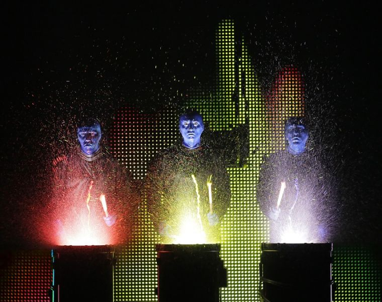 Blue Man Group winter performances