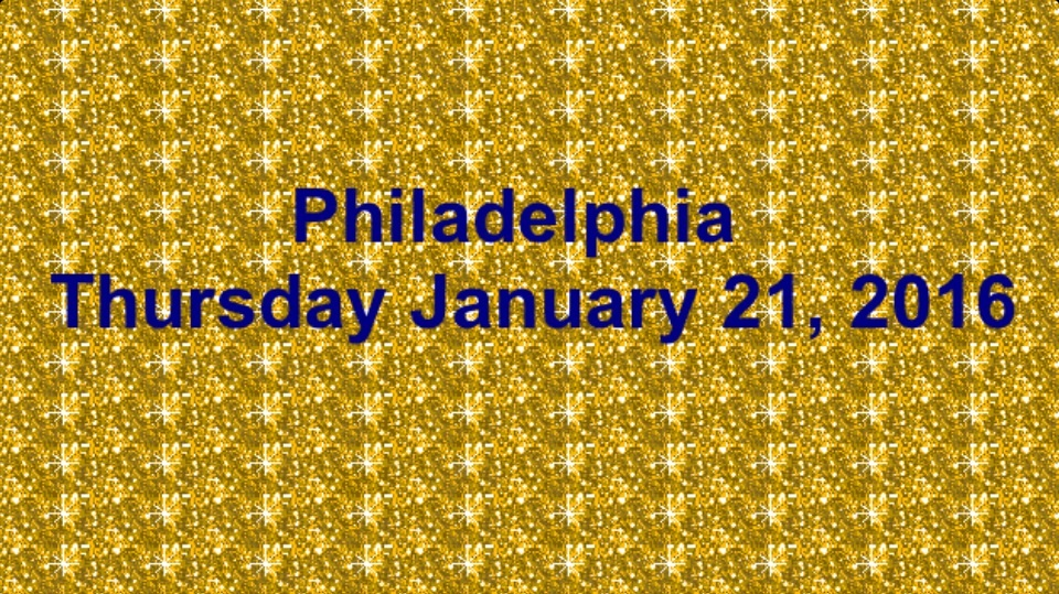 Check out which exhibits, book discussions, shows, sports, and concerts will be in Philadelphia this Thursday.
