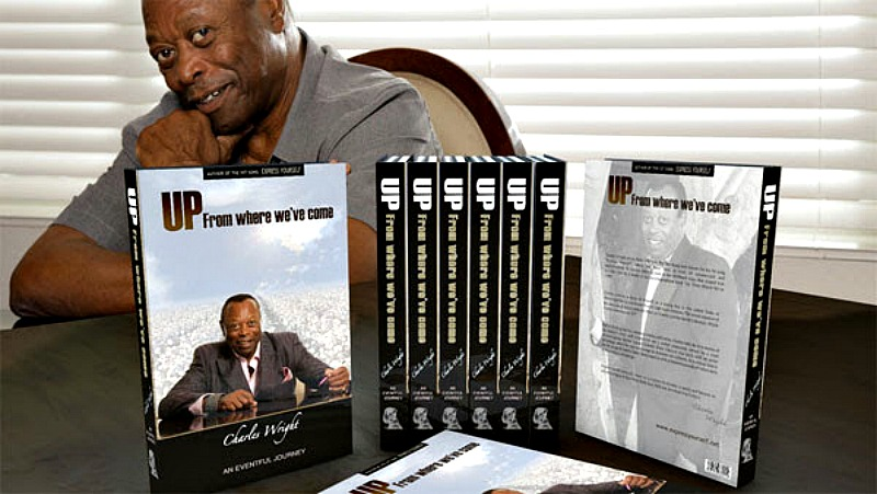 Charles Wright will share the story of his life in new book