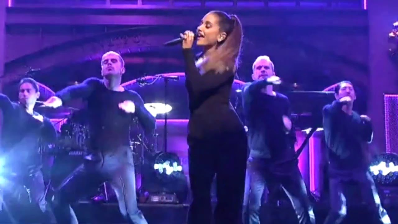 On' On  >> Ariana Grande premieres 'Be Alright' live in fierce performance on 'SNL' - AXS