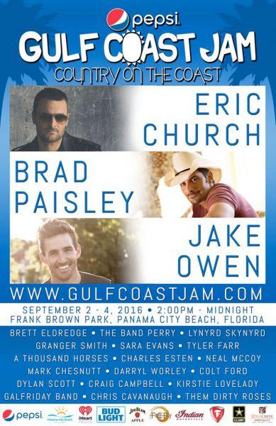 Pepsi Gulf Coast Jam 2016