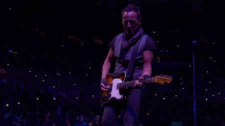 The Boss pays tribute to a Prince: Watch The E Street Band play 'Purple Rain'