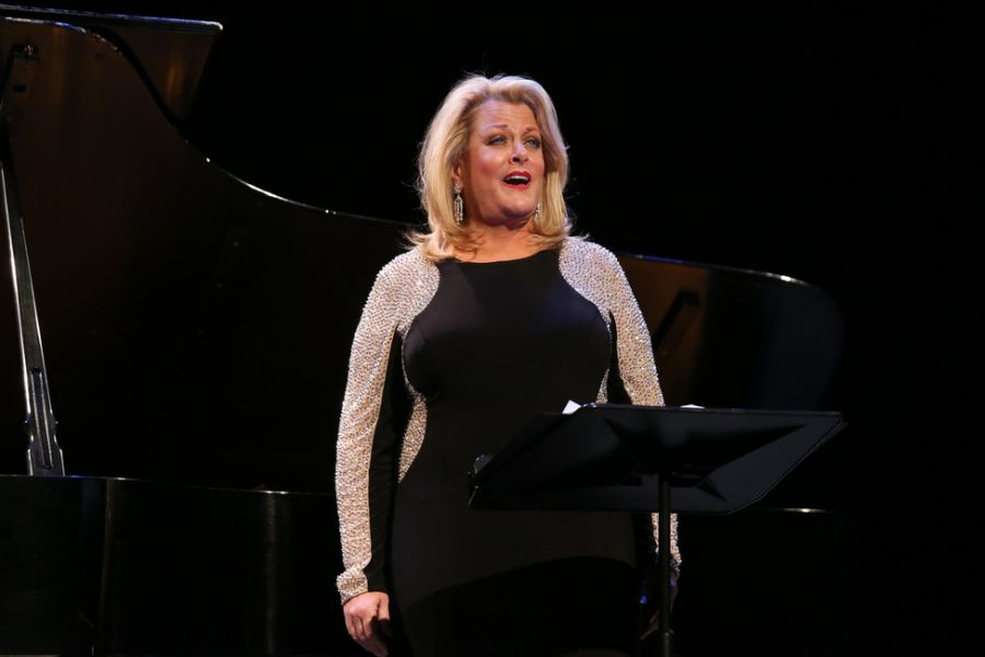Soprano Deborah Voigt at this past February's 2016 Gershwin Winter Gala Celebration