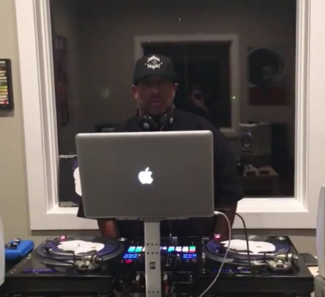 DJ Premier celebrated Prince's life and career through a touching live mix.