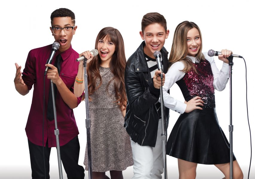 Matt, Sela, Grant, and Ashlynn of KIDZ BOP