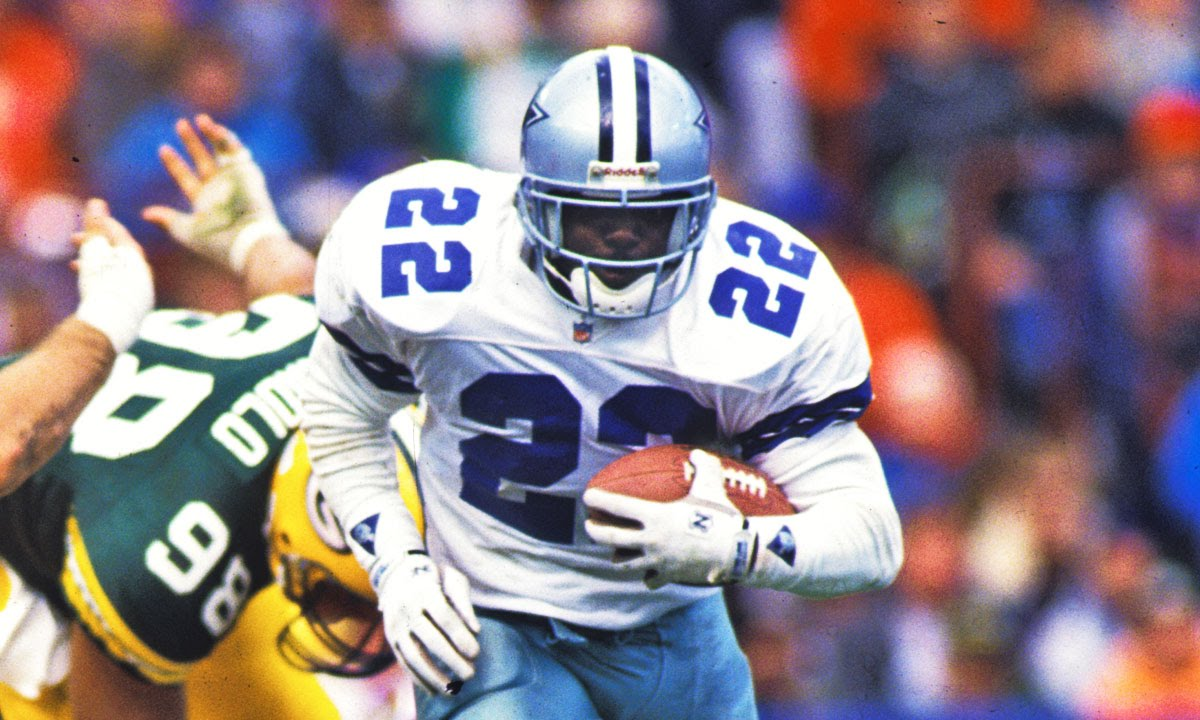 a biography of emmitt smith one of the best backs in the nfl Emmitt smith is one of the coolest nfl players ever  royalty of all running backs hall of famers emmitt smith  emmitt smith 1995 with the best cowboy uniforms.