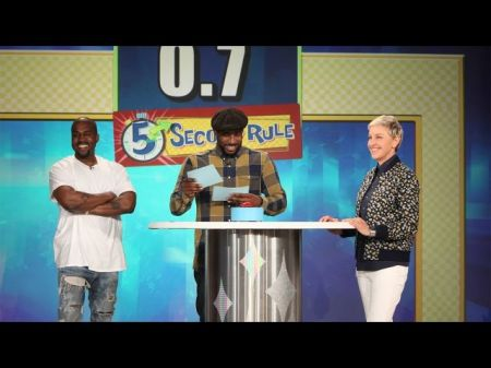 Watch: Kanye West drops yet another classic rant on 'Ellen'