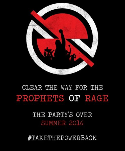What is Rage Against The Machine planning?