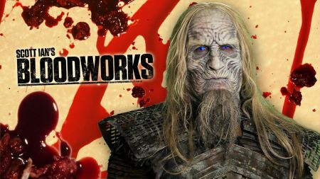 Anthrax's Scott Ian transforms into a Game of Thrones' White Walker