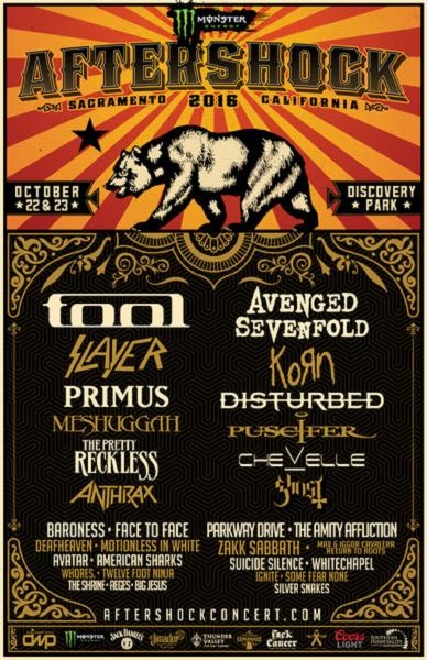 Tool  Tour Support Acts
