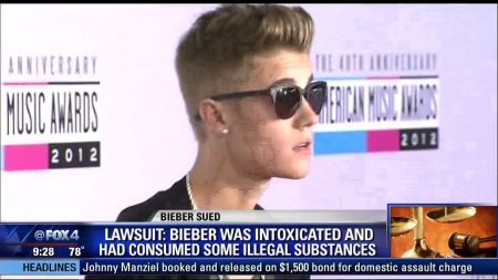Justin Bieber sued by man who claims star smashed his phone
