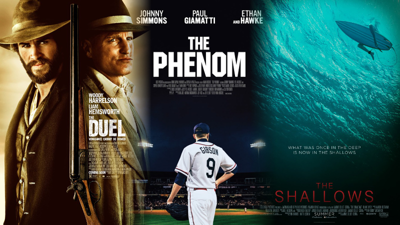 """""""The Duel,"""" """"The Phenom"""" and """"The Shallows"""""""