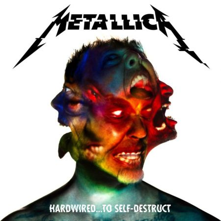 "Metallica released the album artwork, track listing, and release date for ""Hardwired...To Self-Destruct"" on Thursday"
