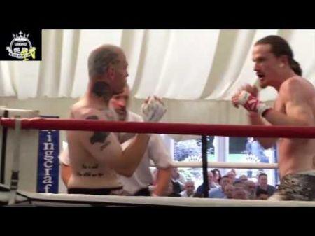 New York's Eric Olsen making his presence felt in England's bare-knuckle boxing scene