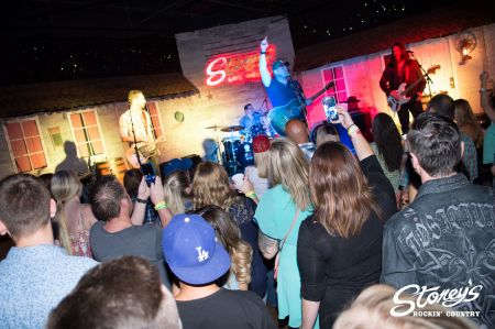 Keith Anderson recently performed during Stoney's Rockin Country ninth anniversary celebration.