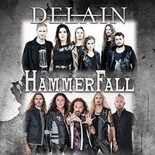 Delain, Hammerfall tickets at Social Hall SF in San Francisco