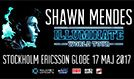 Shawn Mendes tickets at ERICSSON GLOBE/Stockholm Live in Stockholm