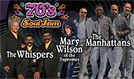 70's Soul Jam feat. The Whispers, The Manhattans, and Mary Wilson of The Supremes tickets at Verizon Theatre at Grand Prairie in Grand Prairie
