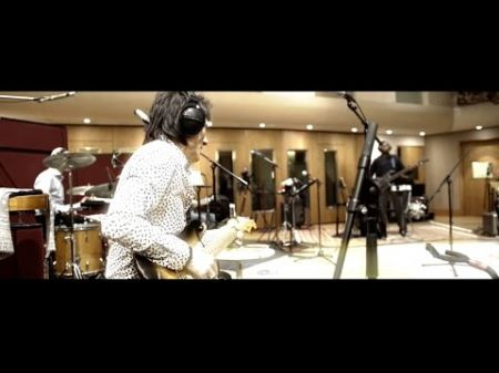 Watch: The Rolling Stones in the studio recording 'Just Your Fool'