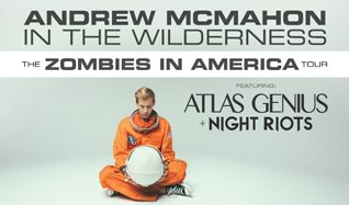 Andrew McMahon in the Wilderness tickets at Starland Ballroom in Sayreville