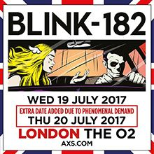 Blink-182 tickets