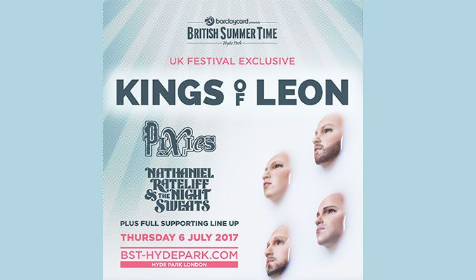 Kings of Leon tickets at Hyde Park in London
