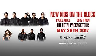 New Kids on the Block tickets at T-Mobile Arena in Las Vegas