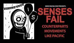 Senses Fail tickets at Starland Ballroom in Sayreville