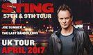 Sting tickets at Eventim Apollo in London