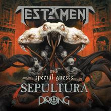 Testament tickets at The National in Richmond