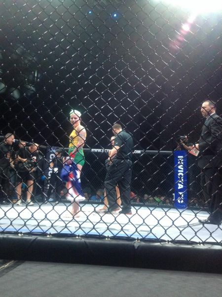 Bec Rawlings is looking to return to cage-fighting action