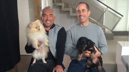 Jerry Seinfeld is but one of the many celebrities Cesar Millan has helped