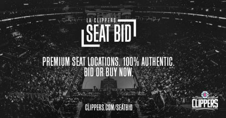 Upgrade your seats easily with LA Clippers Seat Bid