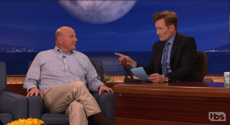 Steve Ballmer is pumped about his team's new Seat Bid service