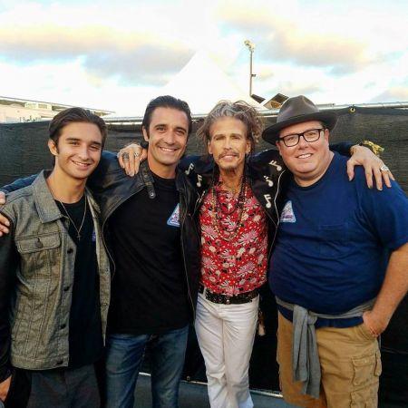 Interview: Gilles Marini talks Steven Tyler, staying at Wayne Newton's ranch