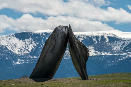Tippet Rise, an innovative music and arts space in Montana, features sculptures and live music that interacts with the natural environment.
