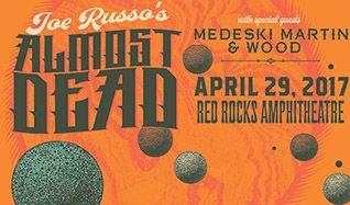 Joe Russo's Almost Dead tickets at Red Rocks Amphitheatre in Morrison