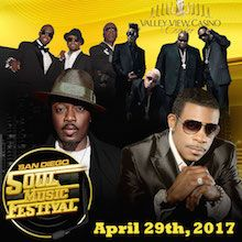 San Diego Soul Music Festival tickets at Valley View Casino Center in San Diego