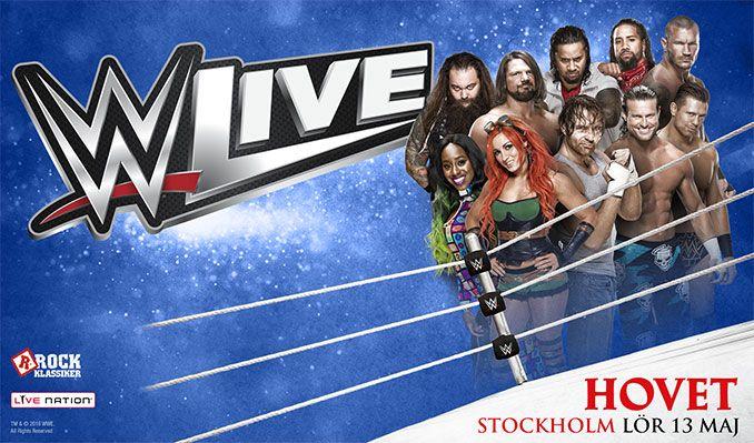 WWE LIVE tickets at HOVET/Stockholm Live in Stockholm