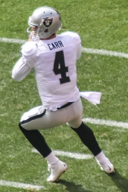 No Derek Carr? Big problem for the Raiders.