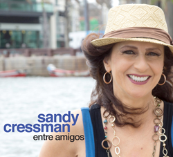 Entre Amigos is an upcoming Brazilian album by singer-songwriter Sandy Cressman steeped in the post-bossa-nova tradition. She goes deeper in